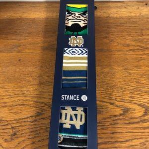 Notre Dame Stance Socks 3 pack